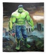 Hulk. Original Acrylic Fleece Blanket