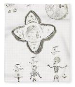 Human Embryo Development, 1685 Fleece Blanket
