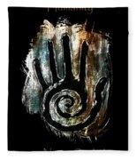 Humanity Native Symbol Fleece Blanket
