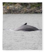 Humpback Whale 5 Fleece Blanket