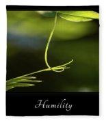 Humility 2 Fleece Blanket