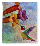 Hummer Time Fleece Blanket