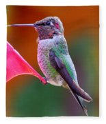 Hummingbird - 28 Fleece Blanket