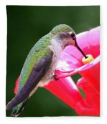 Hummingbird 33 Fleece Blanket