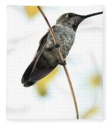 Hummingbird Tongue Fleece Blanket