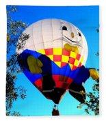 Humpty Dumpty Balloon Fleece Blanket