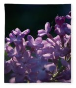 Hungarian Lilac 5 Fleece Blanket