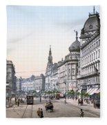 Hungary: Budapest, C1895 Fleece Blanket