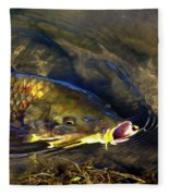 Hungry Carp Fleece Blanket