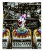 Hungry Clowns Fleece Blanket