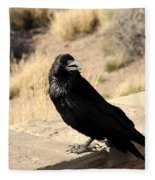 Hungry Crow Fleece Blanket