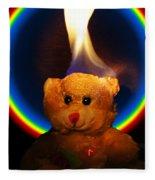 Hunk Of Burning Love Fleece Blanket