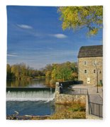 Hunterdon  Art Museum Fleece Blanket