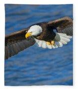 Hunting Eyes Fleece Blanket