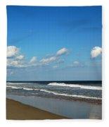 Huntington Beach South Carolina Fleece Blanket