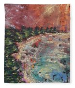 Huntington Lake Fleece Blanket