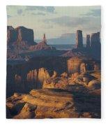 Hunt's Mesa View 7602 Fleece Blanket