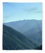 Hurricane Ridge Fleece Blanket
