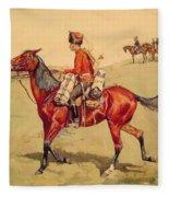 Hussar Russian Guard Corps Fleece Blanket