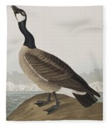Hutchins's Barnacle Goose Fleece Blanket