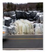 Hwy Ice   Fleece Blanket