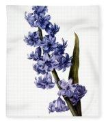 Hyacinth Fleece Blanket