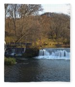 Hyde Mill Wisconsin Fleece Blanket