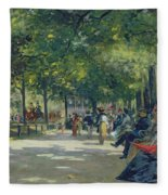 Hyde Park - London  Fleece Blanket