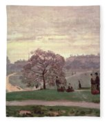 Hyde Park Fleece Blanket