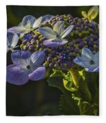 Hydrangea Color Fleece Blanket