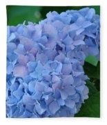 Hydrangea Floral Flowers Art Prints Baslee Troutman Fleece Blanket