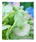 Hydrangea Flowers Art Prints Floral Gardens Gliclee Baslee Troutman Fleece Blanket