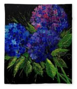 Hydrangeas 66 Fleece Blanket