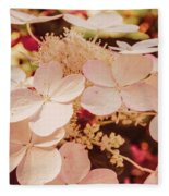 Hydrangeas 7 Fleece Blanket