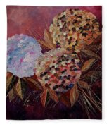 Hydrangeas 880130 Fleece Blanket