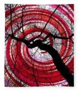Hypnotic Nature Fleece Blanket