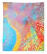 I Am Butterfly V2 Fleece Blanket