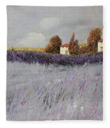 I Campi Di Lavanda Fleece Blanket