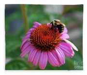I Love Pollen And Pollen Loves Me Fleece Blanket