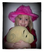 I Love Pooh Bear Fleece Blanket