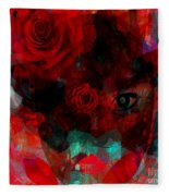 I Named You Rose Fleece Blanket