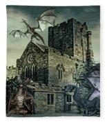 I See Dragons Fleece Blanket