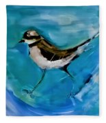 I See You Said The Killdeer As She Passed By Fleece Blanket