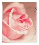 I Shall Love You Always Fleece Blanket