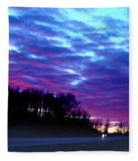 I70 West Ohio Fleece Blanket