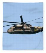 Iaf Sikorsky Ch-53 Helicopters Fleece Blanket