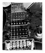 Ibanez Guitar Fleece Blanket