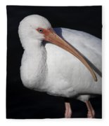 Ibis Pose Fleece Blanket