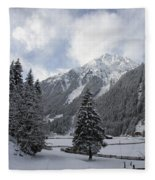 Ice Cold But Beautiul Fleece Blanket