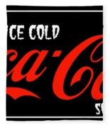 Ice Cold Coke 8 Coca Cola Art Fleece Blanket